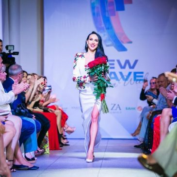 В рамках New Wave Fashion Week 2016 в Сочи дизайнер Анастасия Задорина.