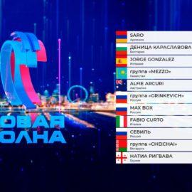 Итоговая таблица результатов конкурса «Новая Волна 2021»